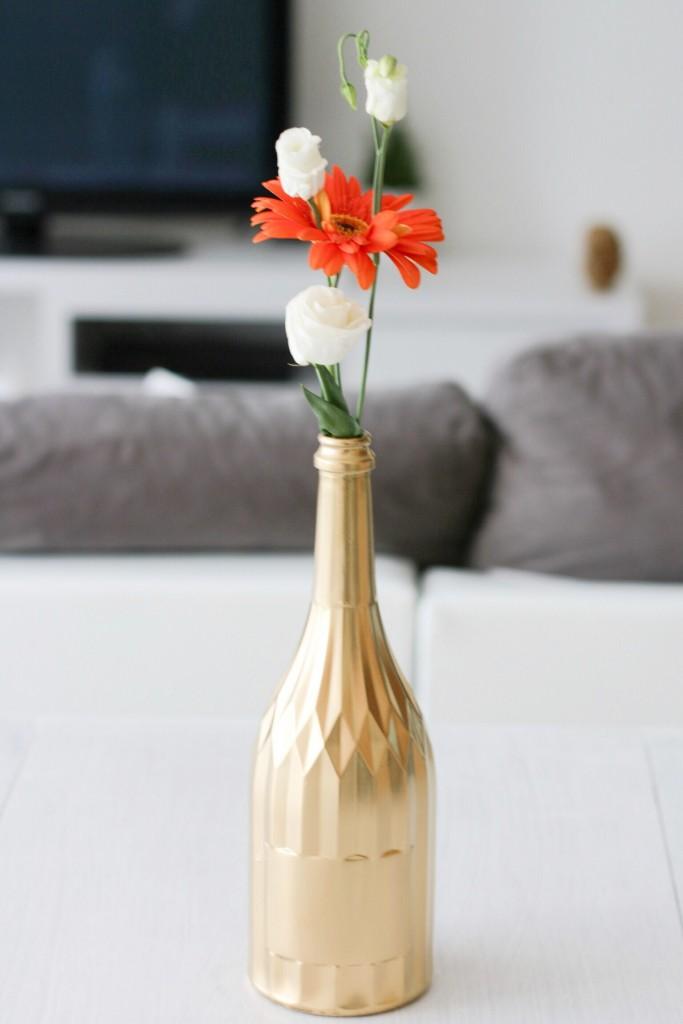 DIY : Transformer une bouteille en vase
