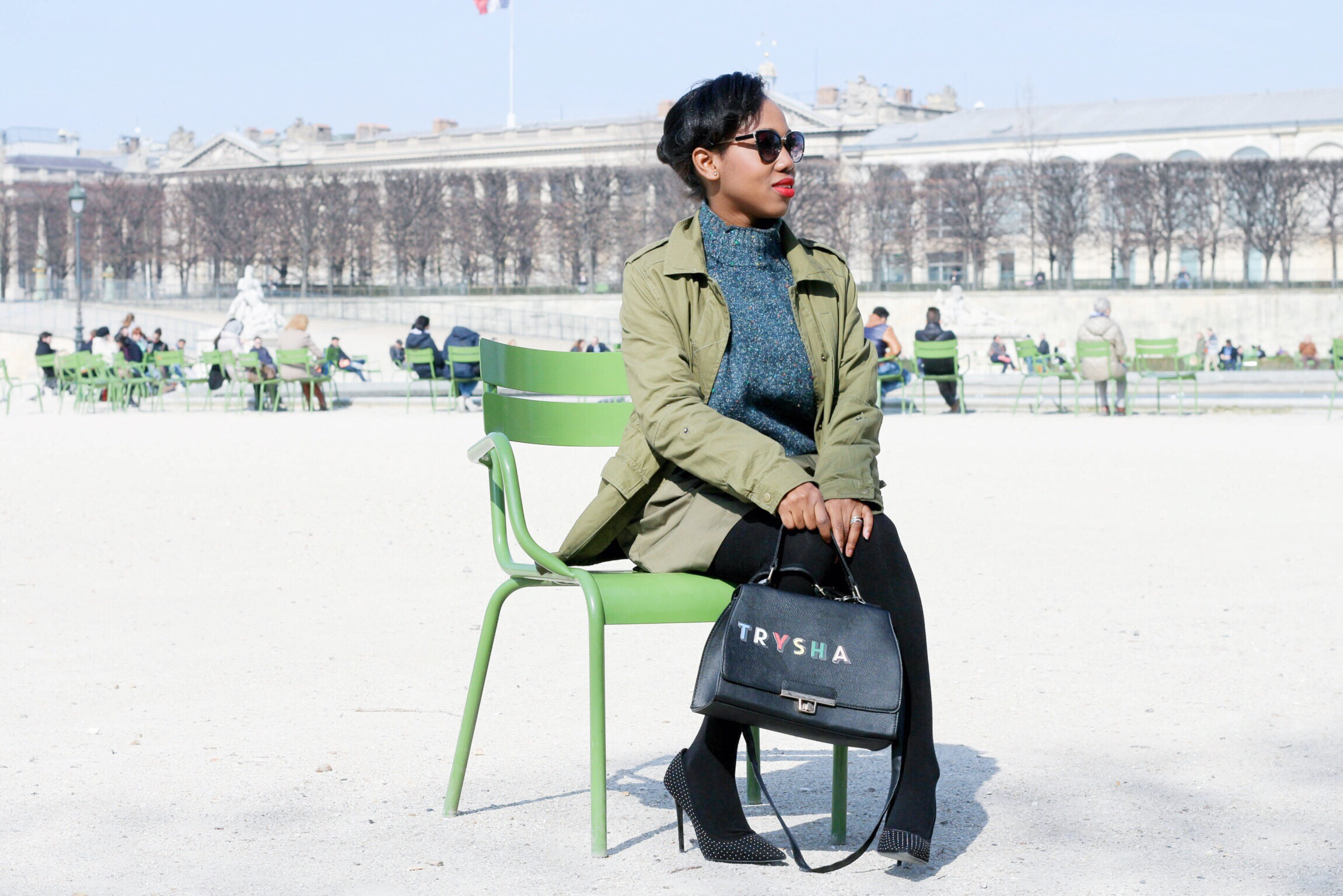 Au jardin des tuileries trysha gaba for Jardin des tuileries 2016