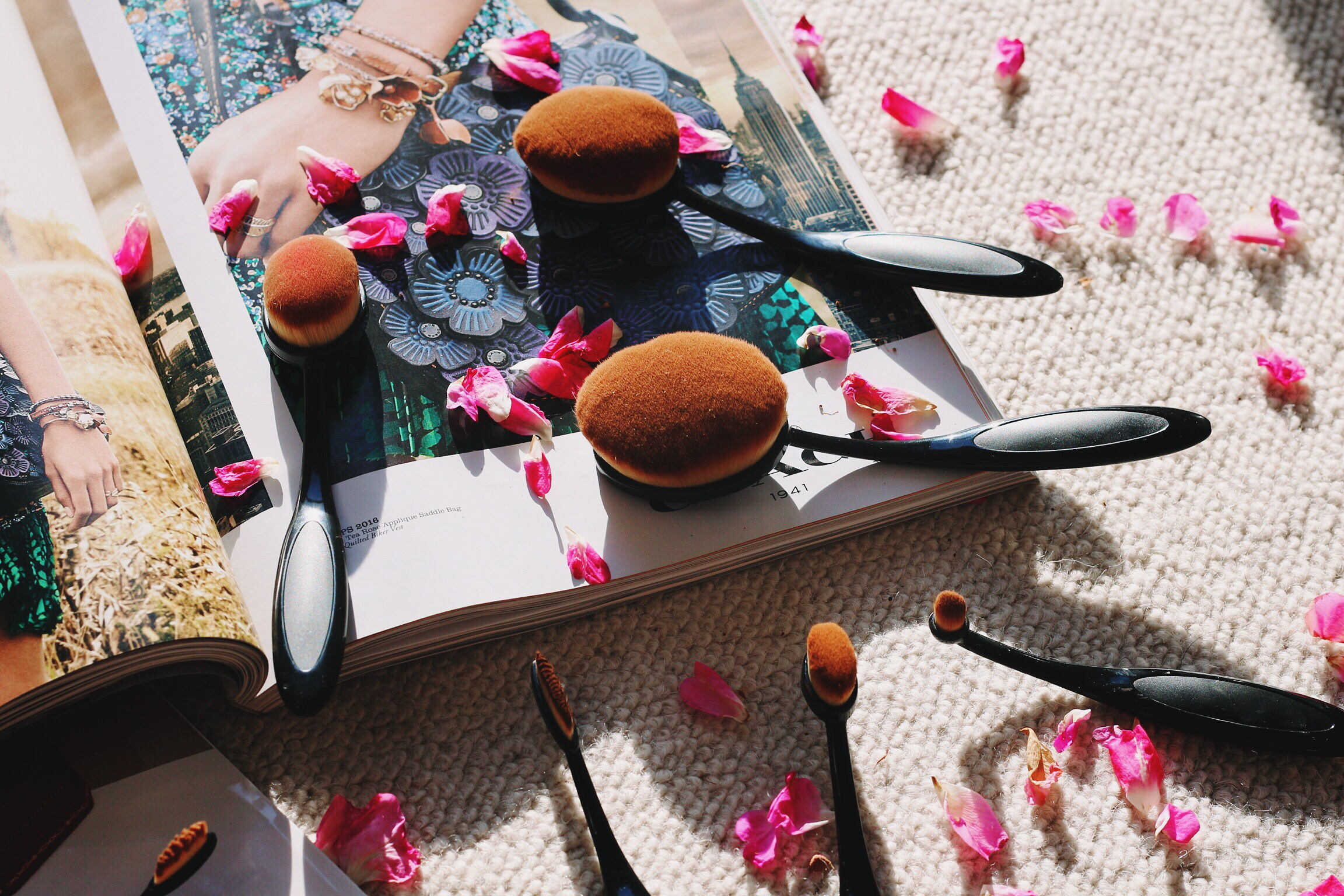 Trysha Gaba - Pinceaux de maquillage ovales dupes artis brush 2