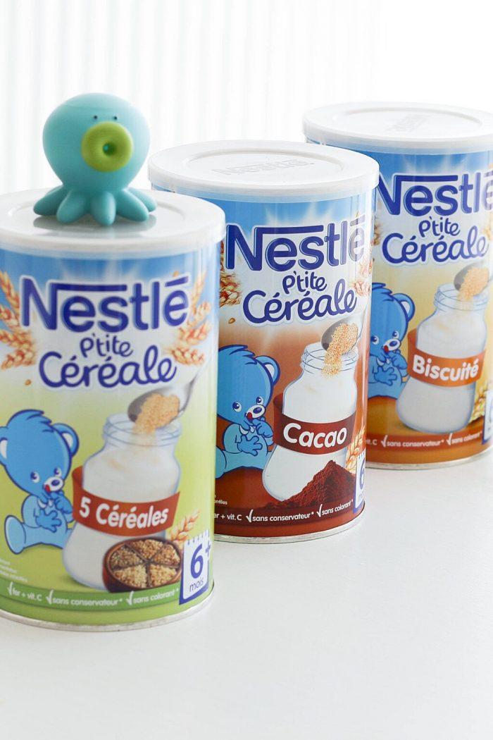 Baby food : Les p'tites céréales de Nestlé