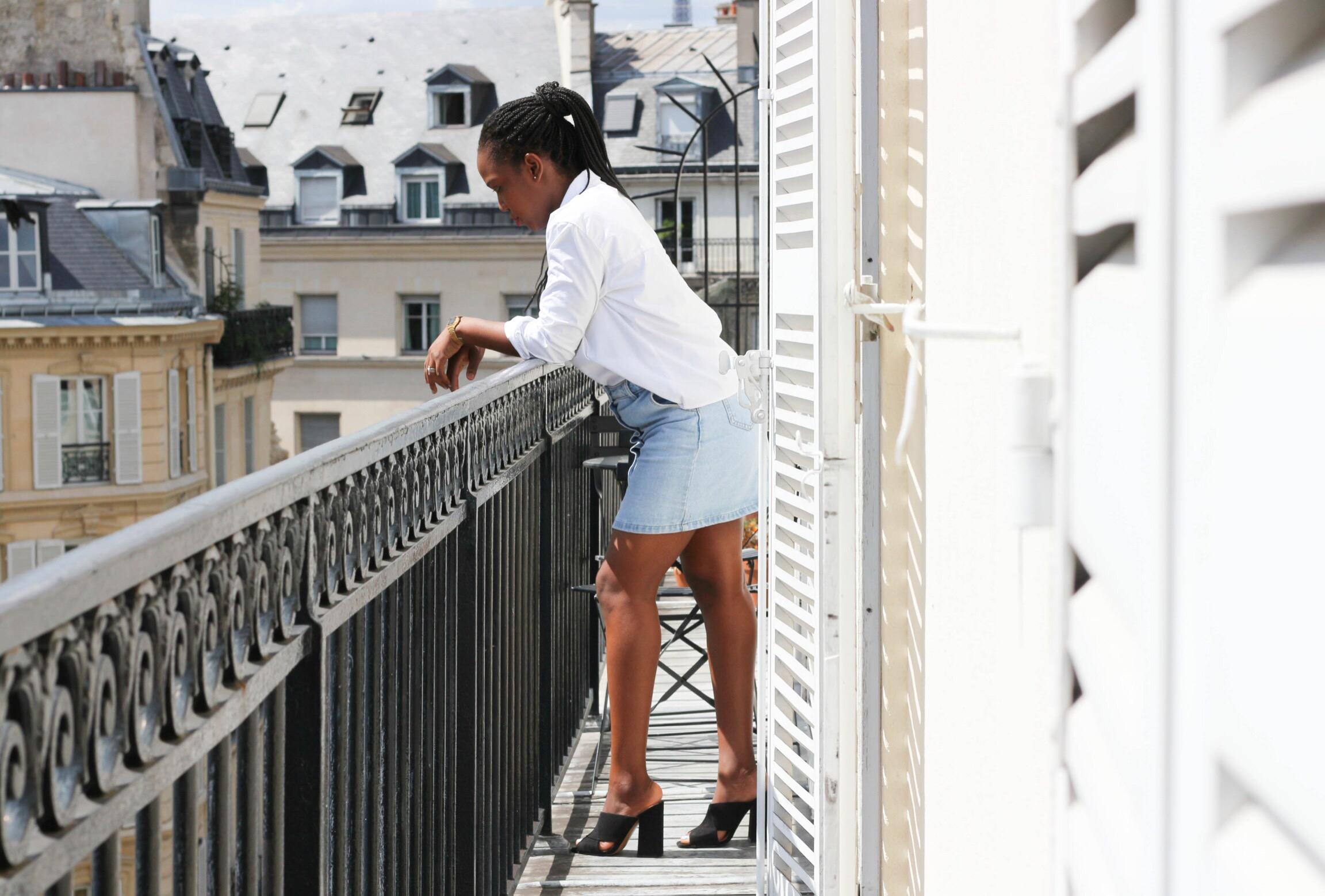 Trysha Gaba - La chemise blanche 3