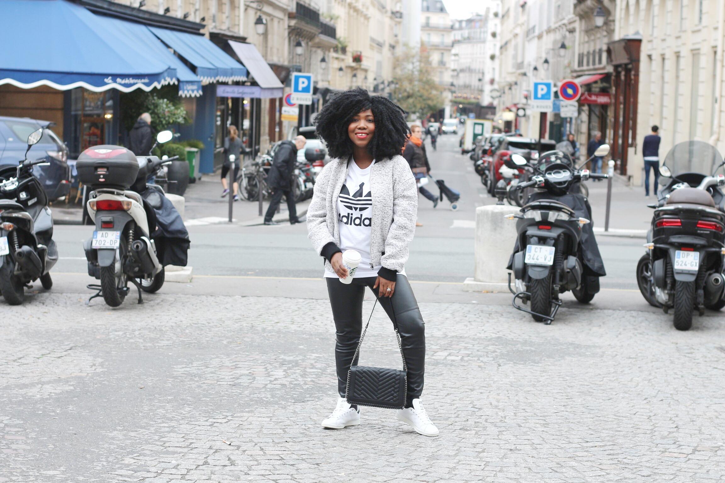 Trysha Gaba - Casual in Adidas 8
