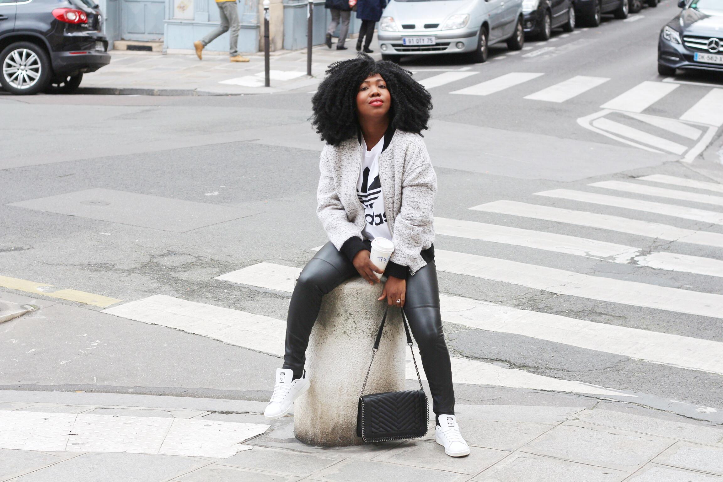 Trysha Gaba - Casual in Adidas 5
