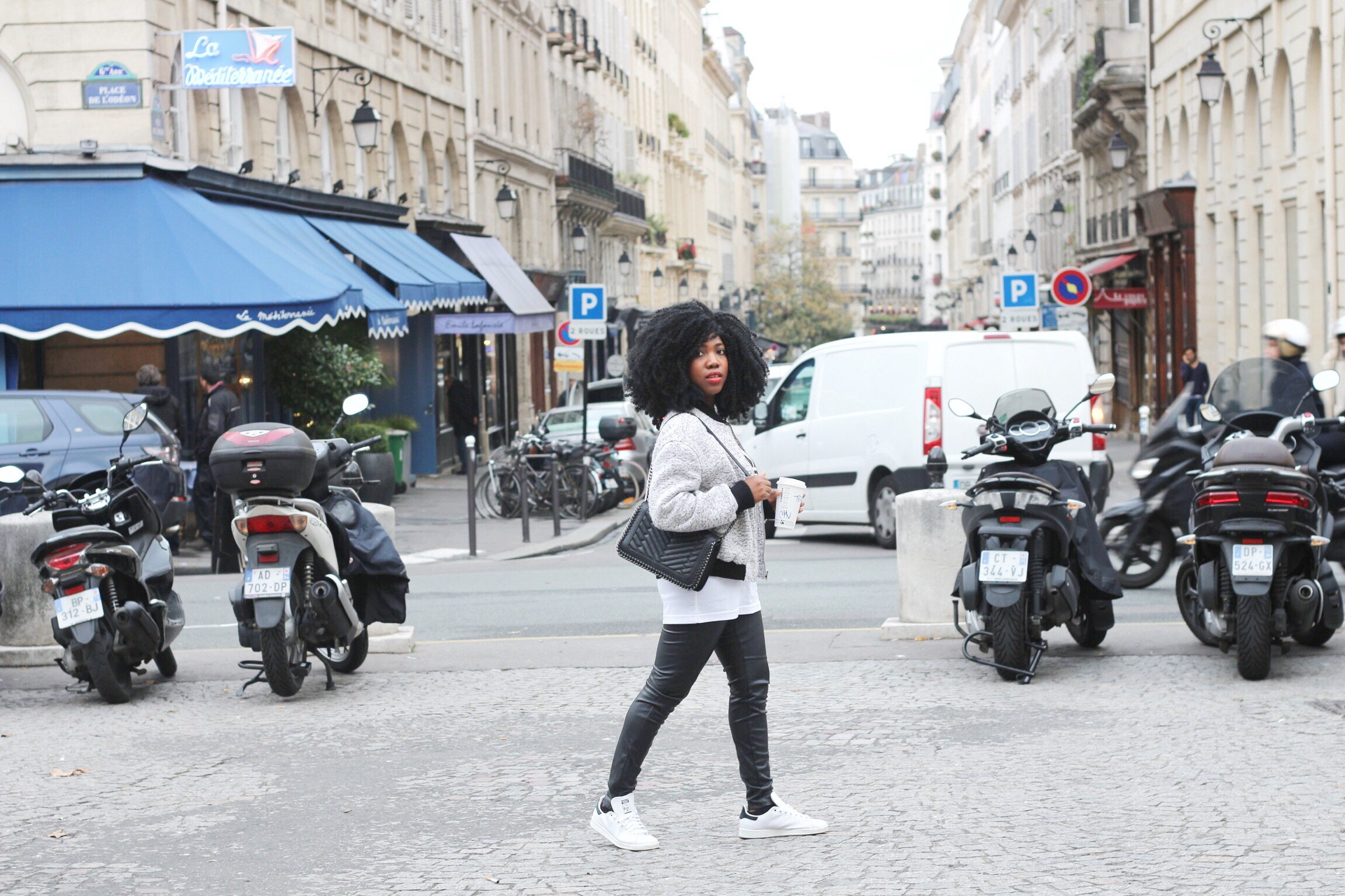 Trysha Gaba - Casual in Adidas 2