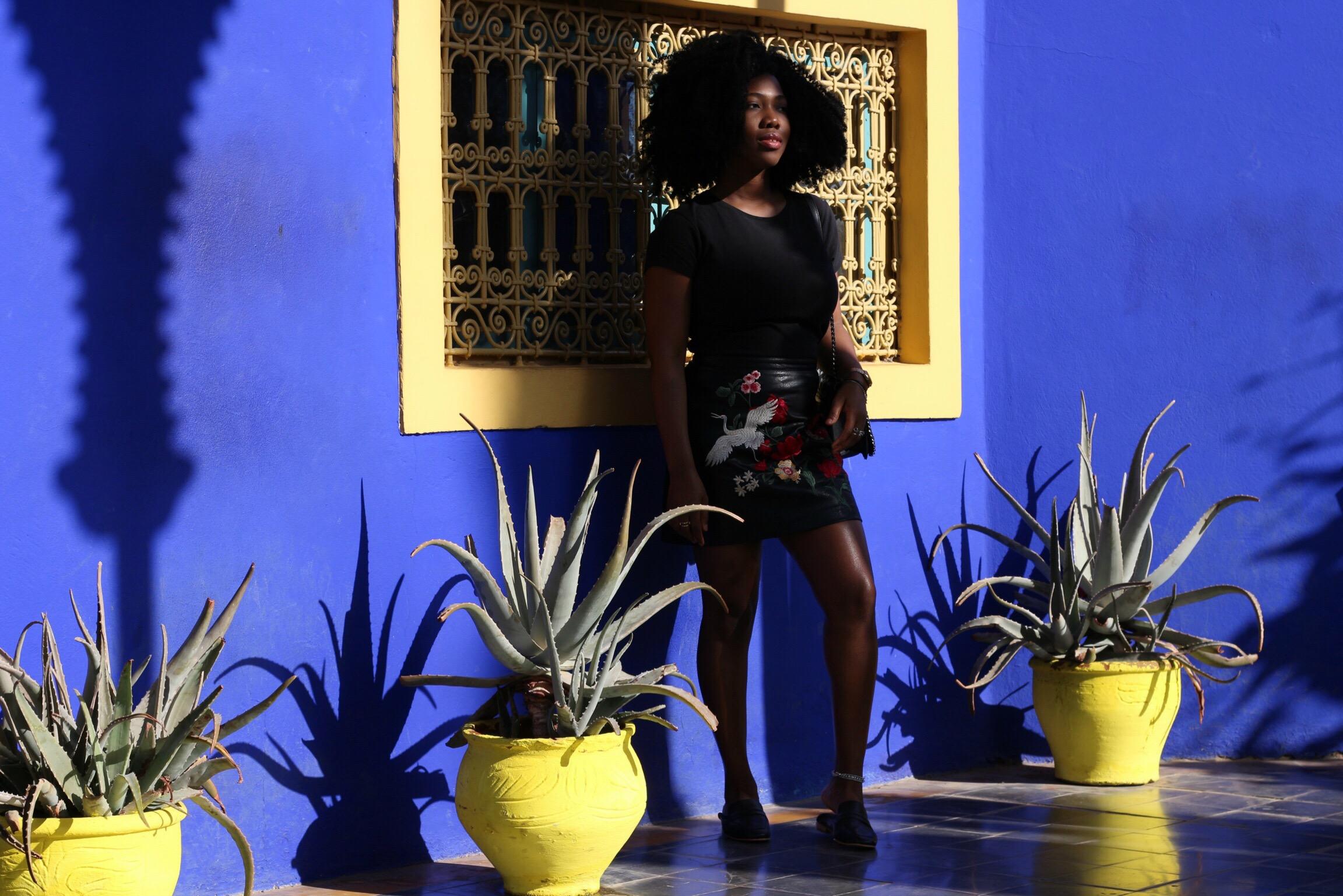 Trysha Gaba - Marrakech Majorelle 1