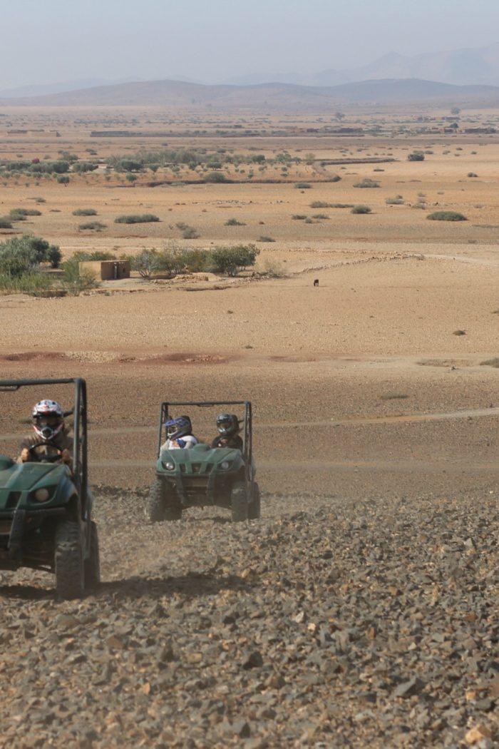 Randonnée dans le désert marrakchi en buggy