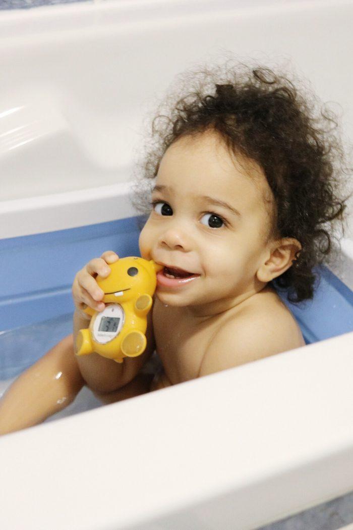 Moment bébé : le bain de chouchou
