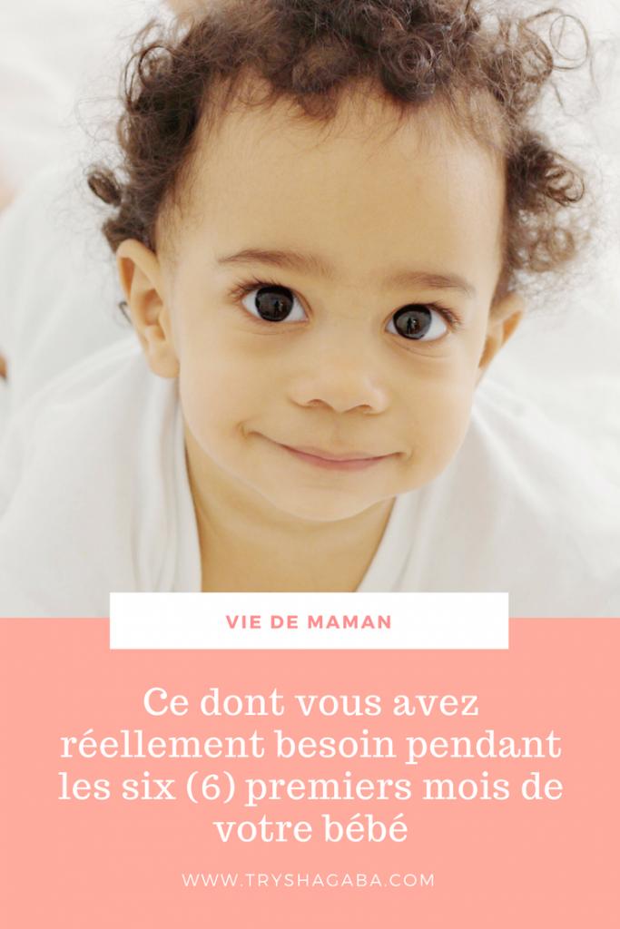 Achats pour bébé : ce dont vous avez vraiment besoin pendant les 6 premiers mois