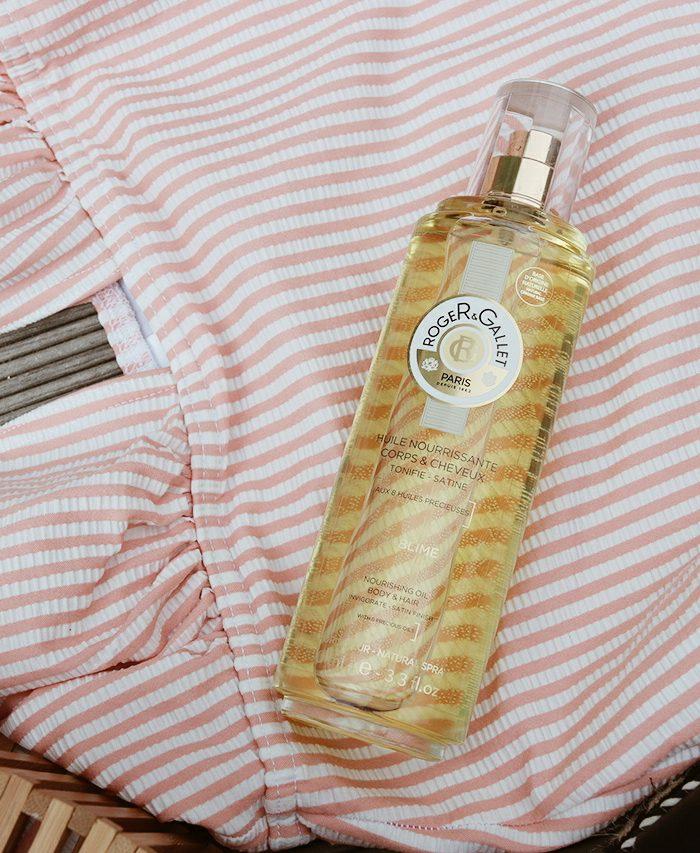 L'huile nourrissante corps et cheveux sublime de Roger&Gallet