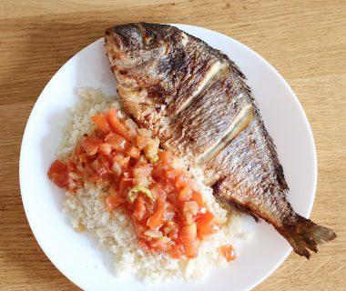 Trysha Gaba - Attièkè au poisson frit