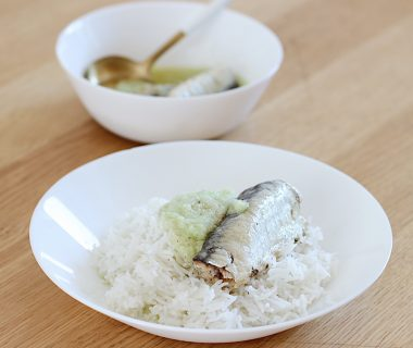Trysha Gaba - Riz, piment, sardine